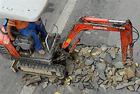 - street yard....- cantiere stradale