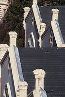 Europe/France/Champagne-Ardenne/51/Marne/Reims: Maison de Champagne Pommery - Détail des batiments et toiture
