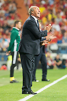 Italy's coach Giampiero Ventura during match between Spain and Italy to clasification to World Cup 2018 at Santiago Bernabeu Stadium in Madrid, Spain September 02, 2017. (ALTERPHOTOS/Borja B.Hojas)