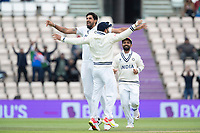 Ishant Sharma, India celebrates the wicket of  Henry Nicholls during India vs New Zealand, ICC World Test Championship Final Cricket at The Hampshire Bowl on 22nd June 2021