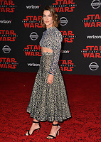 """Cobie Smulders at the world premiere for """"Star Wars: The Last Jedi"""" at the Shrine Auditorium. Los Angeles, USA 09 December  2017<br /> Picture: Paul Smith/Featureflash/SilverHub 0208 004 5359 sales@silverhubmedia.com"""