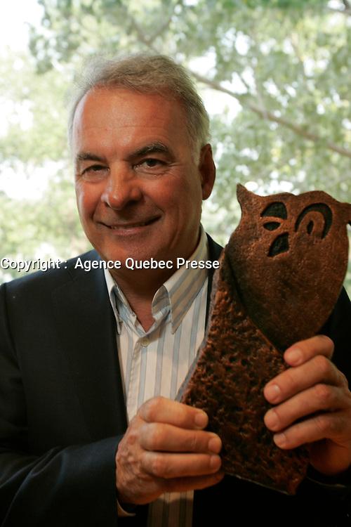 Alain Bouchard , CEO groupe Couche Tard, 2008