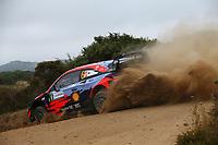 6th June 2021; Olbia, Sardinia, Italy; WRC Rally of Sardegna, final day; Stages SS17-SS20;  Dani Sordo-Hyundai i20 WRC