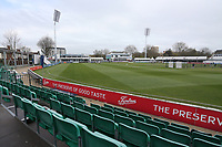 General view of the ground during Essex CCC vs Worcestershire CCC, LV Insurance County Championship Group 1 Cricket at The Cloudfm County Ground on 8th April 2021