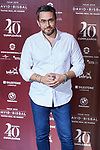 Maxim Huerta during the David Bisbal 40th Birth Day concert photocall at Teatro Real in Madrid, Spain. June 05, 2019. (ALTERPHOTOS/A. Perez Meca)