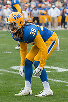 Pitt defensive back Ryan Lewis. The Pitt Panthers defeated the Georgia Tech Yellow Jackets 37-34 at Heinz Field in Pittsburgh, Pennsylvania on October 08, 2016.