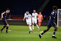 24th December 2020; Paris, France; French League 1 football, Paris St Germain versus Strasbourg;  THOMASSON Adrien Strasbourg passes away from goal