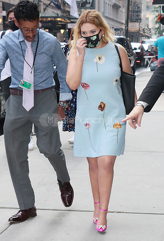 NEW YORK, NY - JULY 27: Abigail Breslin seen at ABC Studios for an appearance on  Good Morning America in New York City on July 27, 2021. Credit: RW/MediaPunch