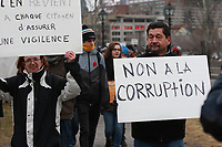 Dec  2012 09 File Photo - Montreal, Quebec, CANADA -<br /> demonstration against corruption