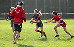 Countie Rugby Girls Fast Rip Tournament, Patamohoe Rugby Club, Patamahoe, Counties, Sunday 8 August 2021. Photo: Simon Watts/www.bwmedia.co.nz