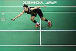 Angus Ng Ka Long of Hong Kong competes against  Sameer Verma of India during their Men's Singles Final of YONEX-SUNRISE Hong Kong Open Badminton Championships 2016 at the Hong Kong Coliseum on 27 November 2016 in Hong Kong, China. Photo by Marcio Rodrigo Machado / Power Sport Images