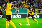 09.08.2019, Merkur Spiel-Arena, Düsseldorf, GER, DFB Pokal, 1. Hauptrunde, KFC Uerdingen vs Borussia Dortmund , DFB REGULATIONS PROHIBIT ANY USE OF PHOTOGRAPHS AS IMAGE SEQUENCES AND/OR QUASI-VIDEO<br /> <br /> im Bild | picture shows:<br /> Einzelaktion Manuel Akanji (Borussia Dortmund #16), <br /> <br /> Foto © nordphoto / Rauch