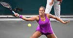 Apr 05 2017:   Madison Keys (USA) battles Shelby Rogers (USA) during the Volvo Car Open being played on  at Family Circle Tennis Center in Charleston, South Carolina, USA  ©Leslie Billman/Tennisclix/Cal Sport Media