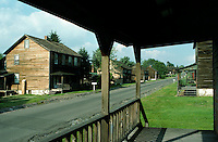 Main Street, Eckley Miner's Village, Luzerne Country, Pennsylvania