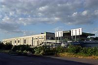 milano, quartiere bovisa, periferia nord. Milano Nord Bovisa Politecnico, stazione delle ferrovie nord --- milan, bovisa district, north periphery. Milano Nord Bovisa Politecnico, railway station of ferrovie nord