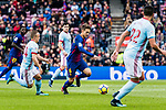 Denis Suarez of FC Barcelona (C) in action during the La Liga 2017-18 match between FC Barcelona and RC Celta de Vigo at Camp Nou Stadium on 02 December 2017 in Barcelona, Spain. Photo by Vicens Gimenez / Power Sport Images