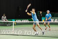 Rotterdam, The Netherlands, Februari 9, 2016,  ABNAMROWTT, Jean-Julien Rojer (NED) / Horia Tecau (ROU)<br /> Photo: Tennisimages/Henk Koster