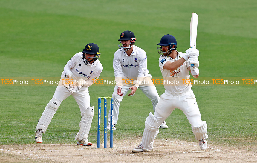 Dan Lincoln bats for Kent during Kent CCC vs Sussex CCC, LV Insurance County Championship Group 3 Cricket at The Spitfire Ground on 14th July 2021