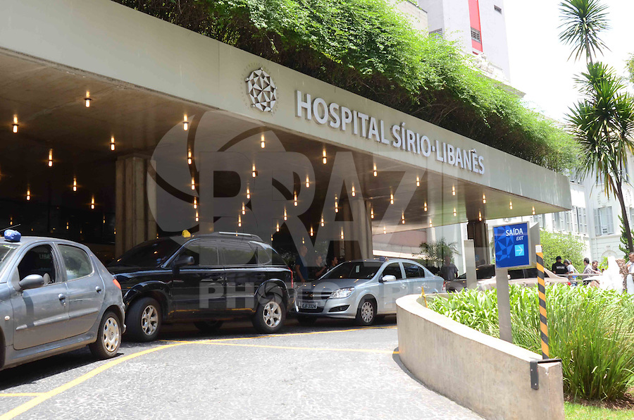 SÃO PAULO, SP, 04 DE JANEIRO DE 2012 - LULA NO HOSP SIRIO LIBANES- O ex-presidente Lula passou a tarde desta quarta-feira no Hospital Sírio Libanes, onde realiza tratamento para cancer na laringe. FOTO: ALEXANDRE MOREIRA - NEWS FREE.