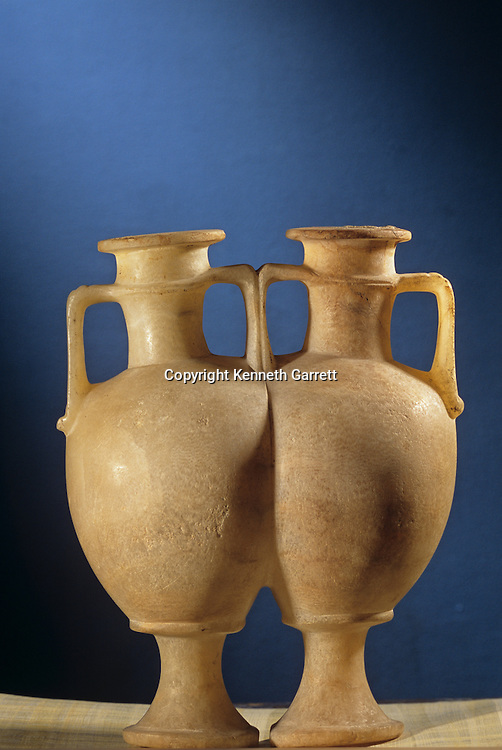Attached calcite vessels,Tutankhamun and the Golden Age of the Pharaohs, Page 228