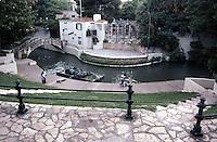 San Antonio:  Paseo del Rio, Anderson Theater.  Photo '80.