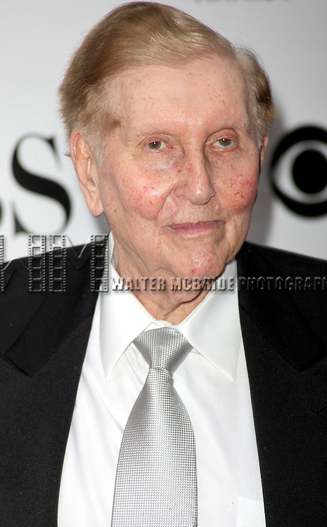 Sumner Redstone arriving at the 63rd Annual Antoinette Perry Tony Awards at Radio City Music Hall in New York City on June 7, 2009.