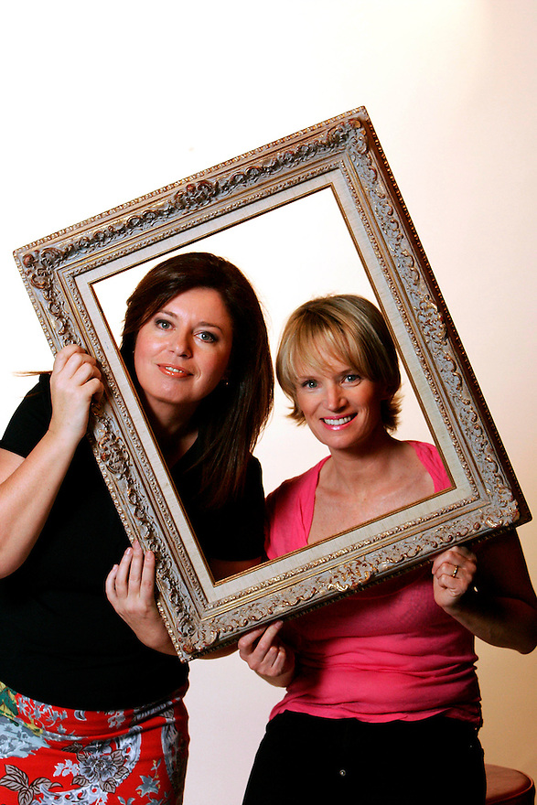 Gina Riley and Jane Turner, better known as TV's  Kath and Kim. - pic by Trevor Collens