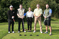 Team Williams & Glynn - From left are Chris Frith, Andy Woodhall, Katie Filardi, Nick Avill and Rob Pinny
