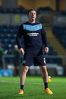 Garry Thompson of Wycombe Wanderers during the Sky Bet League 2 match between Wycombe Wanderers and Notts County at Adams Park, High Wycombe, England on 15 December 2015. Photo by Andy Rowland.