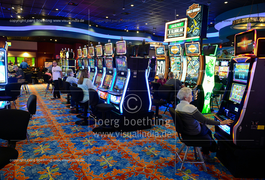 USA, Iowa, Omaha Reservation, Blackbird Bend Casino in Onawa