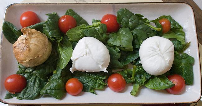 Tomato and Mozzarella Salad, Pan Obik Restaurant, Rome, Italy