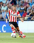Nederland, Eindhoven, 21 juli 2015<br /> Oefenwedstrijd<br /> PSV-FC Eindhoven<br /> Stijn Schaars van PSV in actie met bal