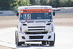 Dutch driver Erwin Klein Nagelvoort belonging Dutch team Erwin Klein Nagelvoort  during the super pole SP1 of the XXX Spain GP Camion of the FIA European Truck Racing Championship 2016 in Madrid. October 01, 2016. (ALTERPHOTOS/Rodrigo Jimenez)
