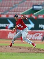 Fernando Ortega participates in the MLB International Showcase at Estadio Quisqeya on February 22-23, 2017 in Santo Domingo, Dominican Republic.
