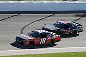 #18: Ryan Preece, Joe Gibbs Racing, Toyota Camry Craftsman #60: Ty Majeski, Roush Fenway Racing, Ford Mustang Ford