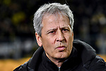 14.02.2020, Signal Iduna Park, Dortmund, GER, 1. BL, Borussia Dortmund vs Eintracht Frankfurt, DFL regulations prohibit any use of photographs as image sequences and/or quasi-video<br /> <br /> im Bild / picture shows / Lucien Favre (Borussia Dortmund) Portrait, Halbportrait, Bild, Einzel, Einzelaufnahme, picture, single, solo, alleine <br /> <br /> Foto © nordphoto/Mauelshagen