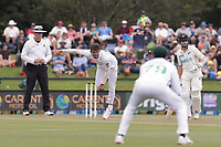 Action from day three of the second International Test Cricket match between the New Zealand Black Caps and Pakistan at Hagley Oval in Christchurch, New Zealand on Tuesday, 5 January 2021. Photo: Martin Hunter / lintottphoto.co.nz