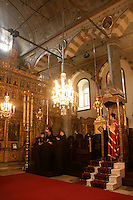 The Sunday mass at St George's at the Ecumenical Patriarchy in Fener, Istanbul, Turkey