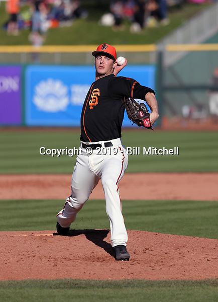 Tyler Herb - San Francisco Giants 2019 spring training (Bill Mitchell)