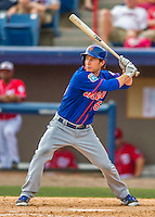 3 March 2016: New York Mets infielder Ty Kelly in action during a Spring Training pre-season game against the Washington Nationals at Space Coast Stadium in Viera, Florida. The Mets fell to the Nationals 9-4 in Grapefruit League play. Mandatory Credit: Ed Wolfstein Photo *** RAW (NEF) Image File Available ***