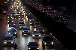 Cars drive along a road as the Lebanese government ordered a national lockdown, to combat a resurgence of the coronavirus disease (COVID-19) outbreak, in Beirut Lebanon November 22,  2020. Lebanese authorities imposed a curfew on 10 November from 5:00 pm until 5:00 am for a lockdown of 17 days from 14 until 30 November 2020 due to the rise of COVID-19 Coronavirus cases in the country in an effort to curb the spread of coronavirus. Photo by Haitham Moussawi