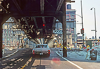Chicago: Loop Elevated, North Wells St. Photo '77.