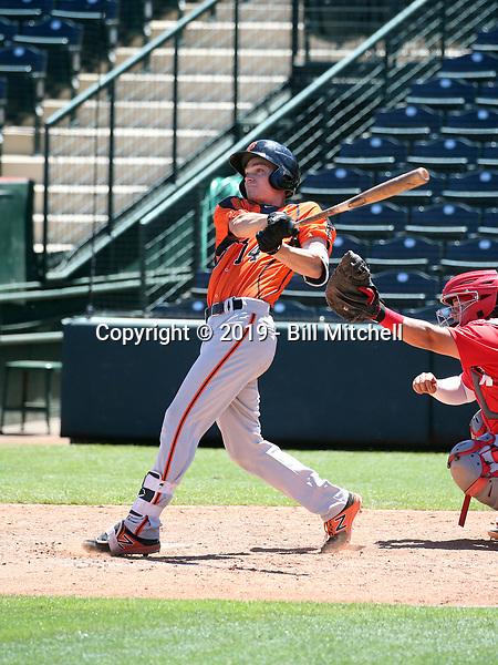 Jett Manning - San Francisco Giants 2019 extended spring training (Bill Mitchell)