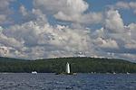 Scenic view of Lake Sunapee, NH