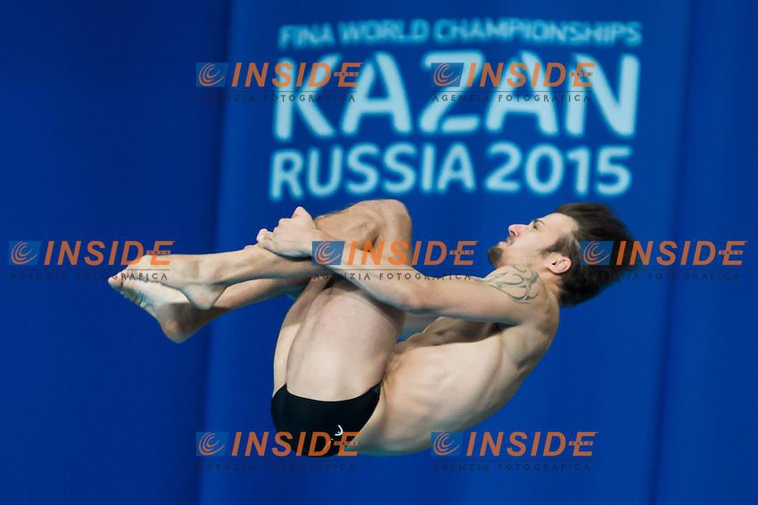 KLEIN Sascha GER<br /> Diving - Men's 10m Platform final<br /> Day 10 02/08/2015<br /> XVI FINA World Championships Aquatics Swimming<br /> Kazan Tatarstan RUS July 24 - Aug. 9 2015 <br /> Photo Giorgio Perottino/Deepbluemedia/Insidefoto