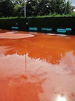 26-08-12, Netherlands, Amstelveen, Tennis, NVK, Claycourt with rain