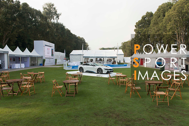 Atmosphere at UBS Hong Kong Open golf tournament at the Fanling golf course on 23 October 2015 in Hong Kong, China. Photo by Lucas Schifres / Power Sport Images