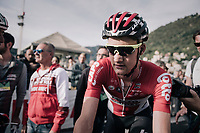 Tim Wellens (BEL/Lotto Soudal) finishing<br /> <br /> Il Lombardia 2017<br /> Bergamo to Como (ITA) 247km