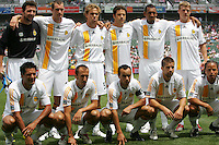 LA Galaxy Starting Eleven. The LA Galaxy played the Chivas USA to a 1-1 draw at the Home Depot Center in Carson, California, May 20, 2007.