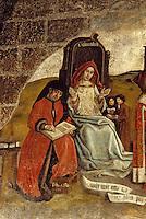 Europe/France/Auvergne/43/Haute-Loire/Le Puy-en-Velay: La cathédrale Notre-Dame - Détail d'une peinture arts libéraux - Grammaire